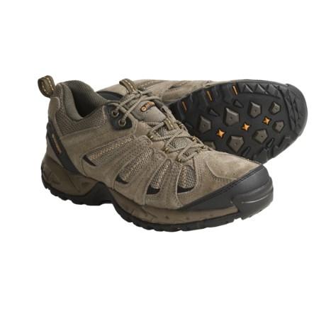 Hi-Tec Multiterra Vector Trail Shoes - Suede-Mesh (For Men)