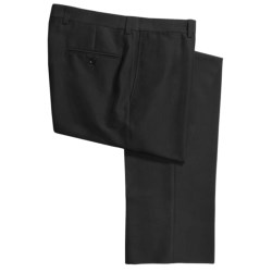 Riviera Micro-Twill Dress Pants - Flat Front (For Men)