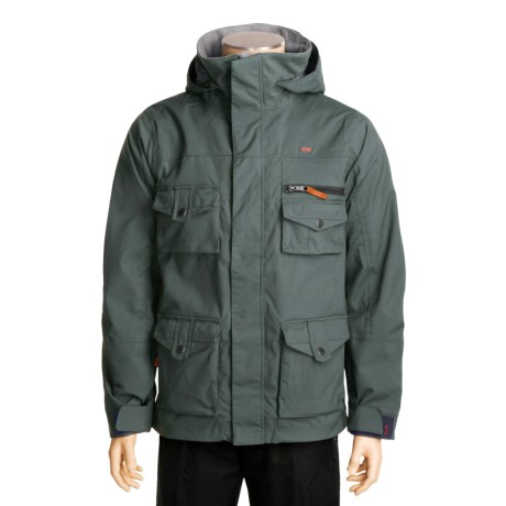 Foursquare Fabian Shell Jacket (For Men)