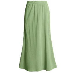 Two Star Dog Bias-Cut Skirt - TENCEL® (For Women)