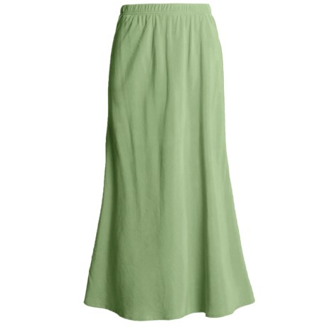 Two Star Dog Bias-Cut Skirt - TENCEL® (For Women)