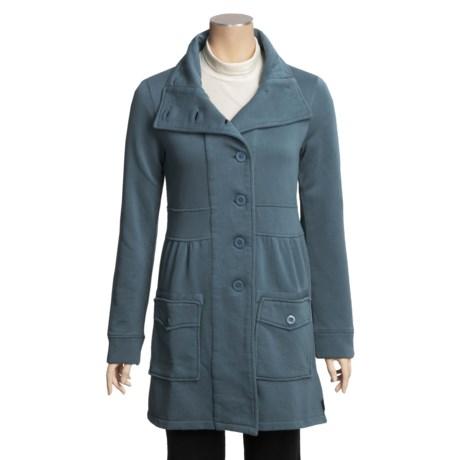 prAna Sylvie Jacket - Textured Cotton Fleece (For Women)