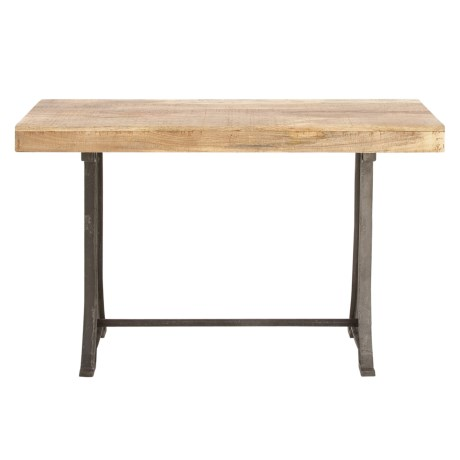 UMA Metal and Wood Console Table - 47x31""
