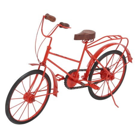 UMA Metal and Wood Decorative Bicycle - 18x12""
