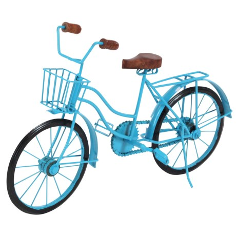 UMA Metal and Wood Decorative Bicycle - 18x11""