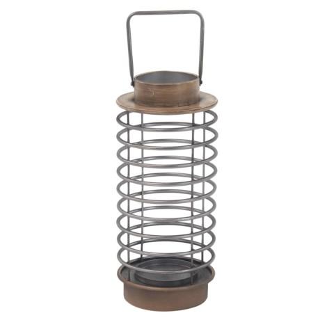 "UMA Metal Decorative Lantern - 7x16"""
