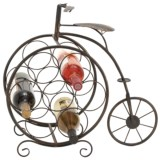 UMA Metal Bicycle Wine Rack