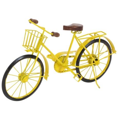 "UMA Decorative Tabletop Bicycle - 19x10"""