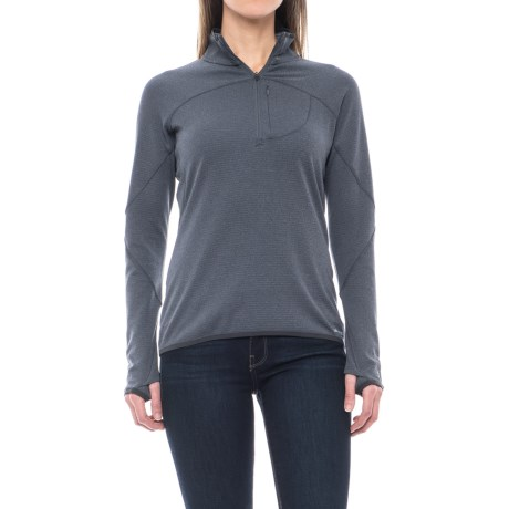 Merrell Geotex Fleece Shirt - Zip Neck, Long Sleeve (For Women)