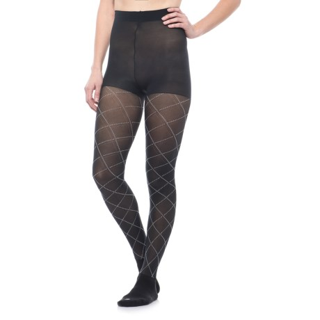 Bootights Argyle Boot Sock Tights (For Women)
