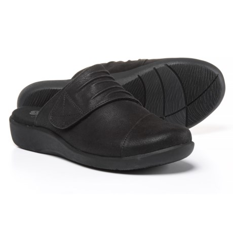 Clarks Cloudsteppers Sillian Rhodes Shoes - Vegan Leather, Slip-Ons (For Women)