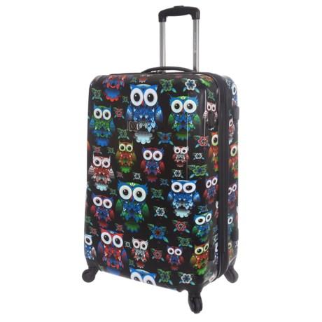 "Traveler's Choice Owl Expandable Spinner Suitcase - Hardside, 29"""