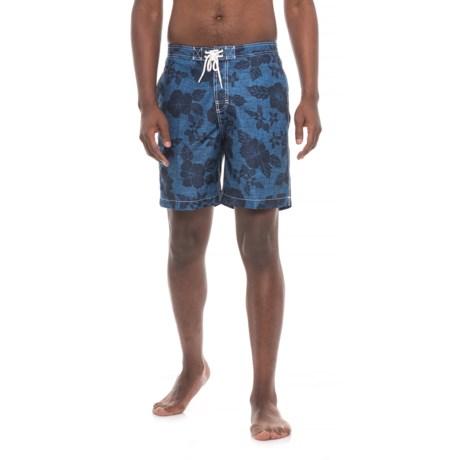 Trunks Surf & Swim Co Swami Swim Trunks - Built-in Brief (For Men)