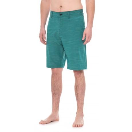 Trunks Surf & Swim Co Multi-Functional Slub Swim Trunks (For Men)