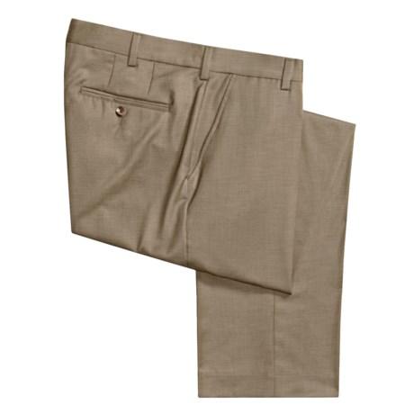 Barry Bricken Gabardine Dress Pants - Wool (For Men)