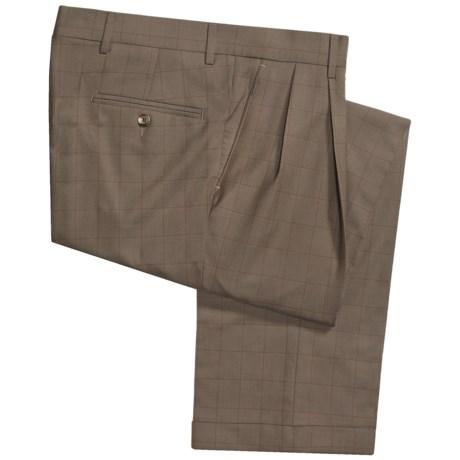 Barry Bricken Dblrvrs pl Pants - Double-Reverse Pleats, Cuffed (For Men)