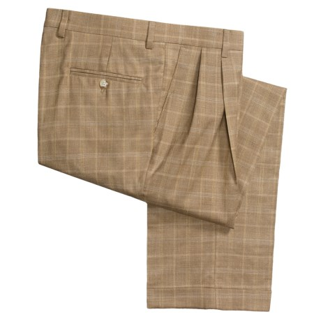 Barry Bricken Dblrvrs pl Pants - Double-Reverse Pleats, Cuffed (For Men)