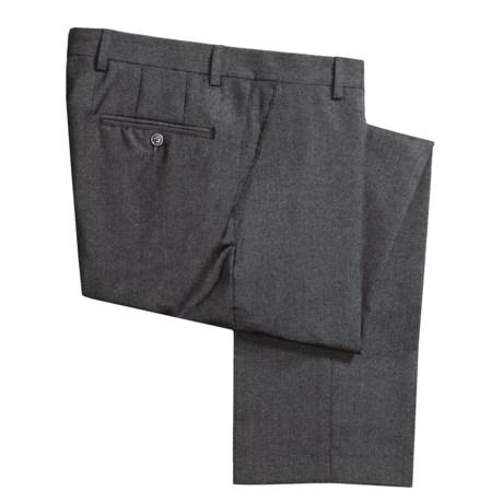 Barry Bricken Wool Tic Weave Pants - Flat Front (For Men)