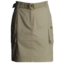 Atelier Luxe Casual Cotton Skirt -Pocketed (For Women)