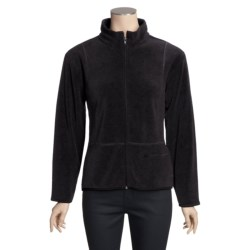 ALPS Spindrift Overdyed Fleece Jacket - Mock Neck (For Women)