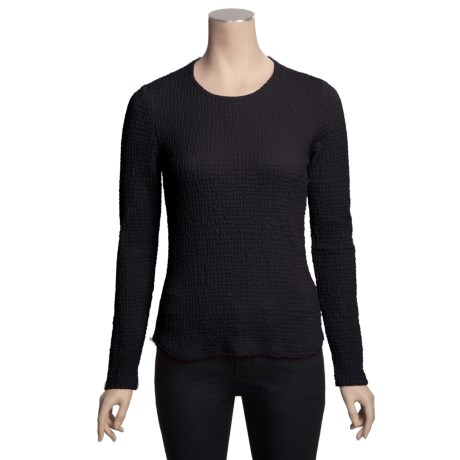 Sno Skins Mini Thermal Sport Shirt - Stretch Blister Fabric, Long Sleeve (For Women)
