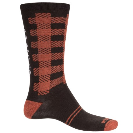 Wigwam Buffalo Squared Socks - Merino Wool, Crew (For Men and Women)