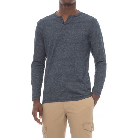 Michael Brandon Marled Henley Shirt - Long Sleeve (For Men)