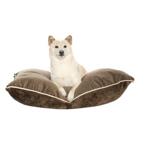 """Aspen Pet Luxe Pillow Dog Bed - 27x36"""""""