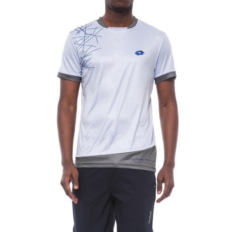 Lotto Training Shirt - Short Sleeve (For Men)