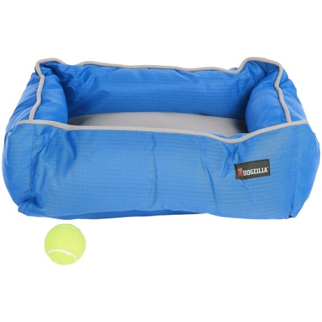 "DogZilla Rectangular Lounger Dog Bed - 22x18"""