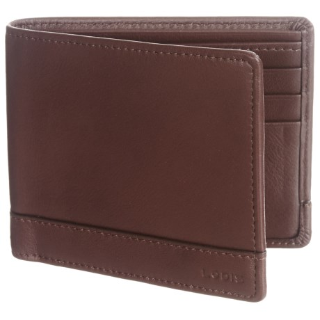 Lodis RFID Bi-Fold Wallet - Leather