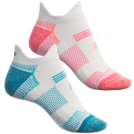 Sof Sole Running Select Double-Tab Socks - 2-Pack, Below the Ankle (For Women)