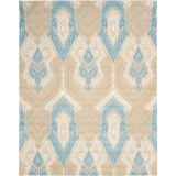 Safavieh Wyndham Collection Blue and Ivory Area Rug - 8x10', Hand-Tufted Wool