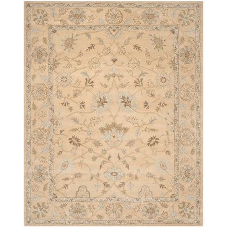 Safavieh Wyndham Collection Light Gold Area Rug - 8x10', Hand-Tufted Wool