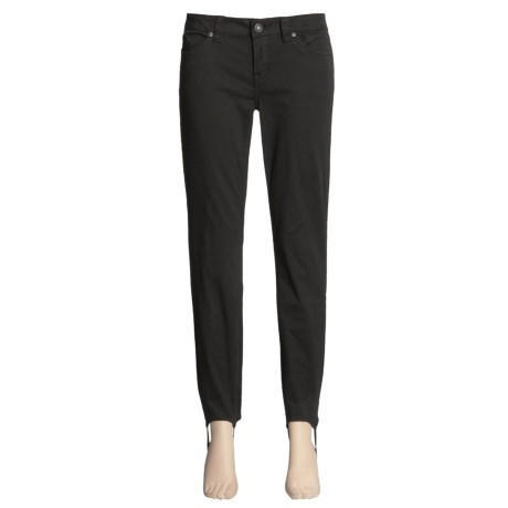 Buffalo Janet Stirrup Pants - Stretch Cotton, Tapered Leg (For Women)