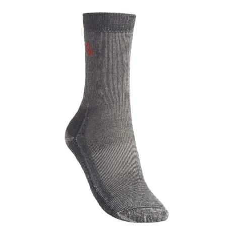 Point6 Hiking Medium Cushion Socks - Merino Wool, Crew (For Women)