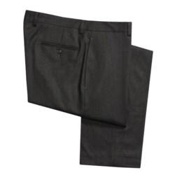 Lauren by Ralph Lauren Wool Flannel Dress Pants - Flat Front (For Men)