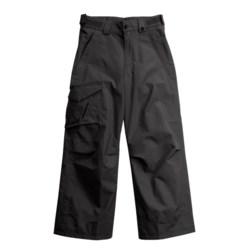 Obermeyer Rail Yard SH Snow Pants - Insulated, Husky Fit (For Girls)