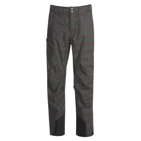 Obermeyer Silverton Plaid Shell Snow Pants (For Men)