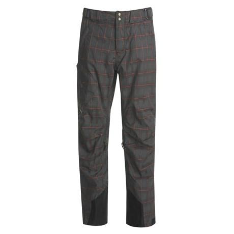Obermeyer Silverton Plaid Shell Snow Pants (For Men)