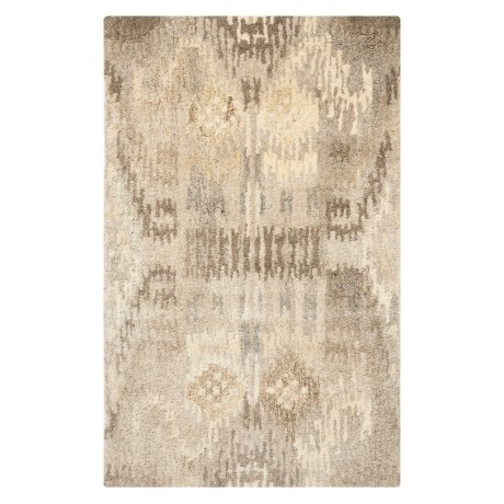 "Safavieh Wyndham Collection Pixelated Multi-Natural Floor Runner - 2'6""x4', Hand-Tufted Wool"
