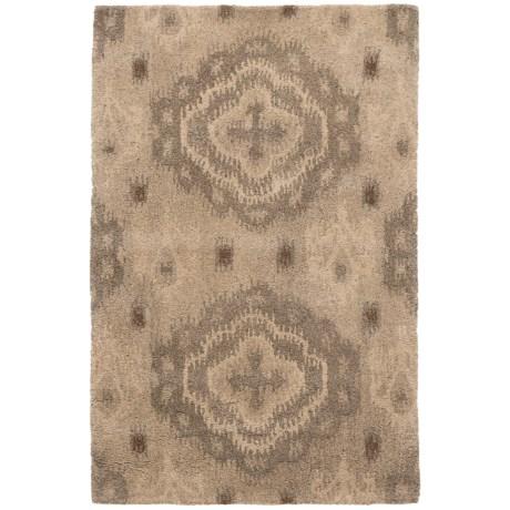 """Safavieh Wyndham Collection Silver Floor Runner - 2'6""""x4', Hand-Tufted Wool"""