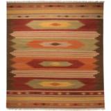 Safavieh Kilim Collection Multi-Brown Area Rug - 8x10', Hand-Tufted Wool