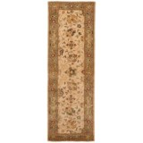 """Safavieh Antiquity Collection Ivory Floor Runner - 2'3""""x8', Hand-Tufted Wool"""