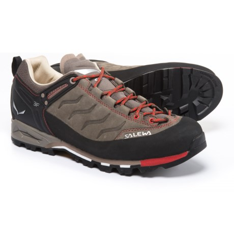 Salewa Mountain Trainer Hiking Shoes - Nubuck (For Men)