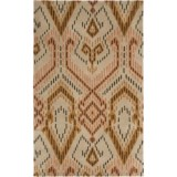 Safavieh Wyndham Collection Brown and Ivory Area Rug - 5x8', Hand-Tufted Wool