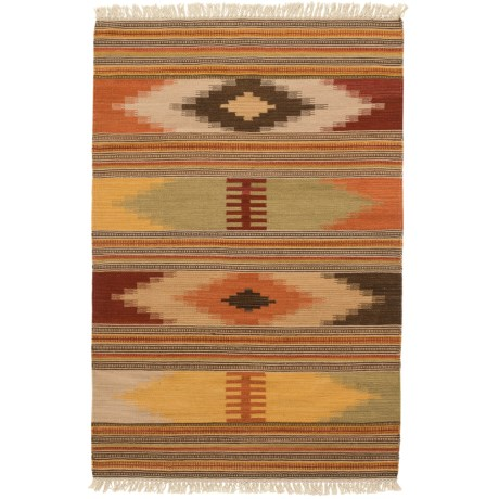 Safavieh Kilim Collection Multi-Red Scatter Accent Rug - 3x5', Hand-Tufted Wool