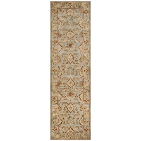 "Safavieh Antiquity Collection Light Grey floor Runner - 2'3""x8', Hand-Tufted Wool"