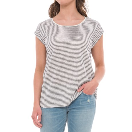 C&C California Scoop Neck Tulip Shirt - Sleeveless (For Women)