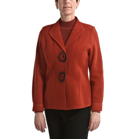 Nomadic Traders Milano Jacket - Boiled Wool (For Women)